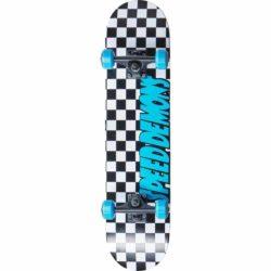 Skateboard Complet Speed Demons Checkers Factory bleu / noir 7.8″
