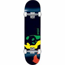 Skateboard complet Enjoi Rasta Panda Factory Noir deck7.0″