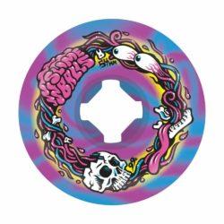 Roues de skateboard Santa Cruz Slime Balls Brains Speed Balls 54 mm