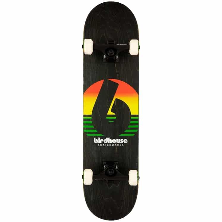 Skateboard Complet Blind Sunset Stage 3 Factory Rasta 7.8″