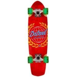 "Skateboard Cruiser D-Street Atlas Rouge 28"""