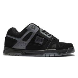 DC Shoes Stag Black Black Battleship noires et grises