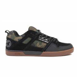 Chaussures de skate DVS Comanche 2.0+ Black Camo gum