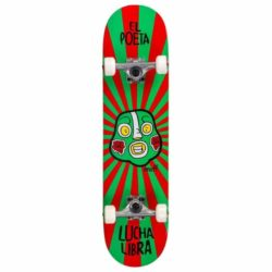 Skateboard Complet Enuff Lucha Libre couleur Rouge & vert 7.25″