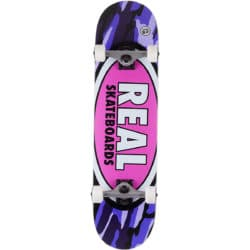 Skateboard complet Real Team Oval Camo Lg Factory 8.0″