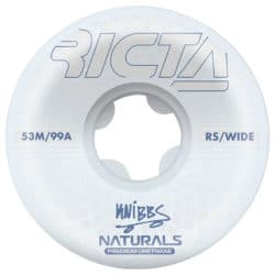 Roues de skateboard Ricta Knibbs Reflective Natural Wide 52mm 99a