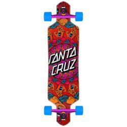 Longboard complet Santa Cruz Mandala Hand Drop Thru Factory
