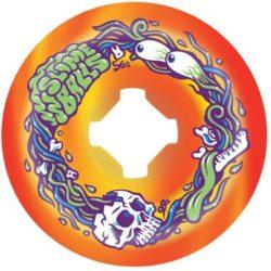 Roues de skateboard Santa Cruz Slime Balls Brains Speed Balls Orange/jaune56 mm