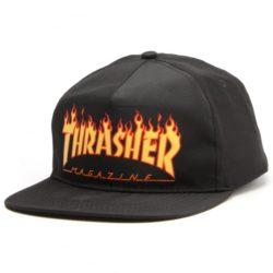Casquette Thrasher Flame Noire