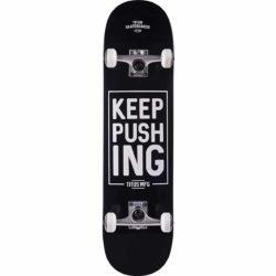 Skateboard Complet Titus Keep Pushing Noir 8.0″