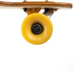 """Longboard Enfant Titus Mountain DT couleur Orange Naturel 8.25"""" ROUE"""