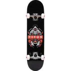 Skateboard complet Titus Pyramid Black Orange 7.625″