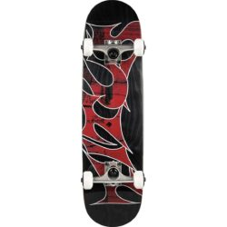 Skateboard Complet Noir Titus Stained 7.5″