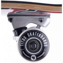 """roues 53mm Skateboard complet Titus Stained triple 7.5"""""""