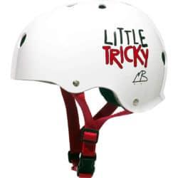 Casque de Skateboard enfant Triple 8 Little Tricky KidsBlanc Glossy