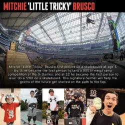 Mitchie Brusco Triple 8