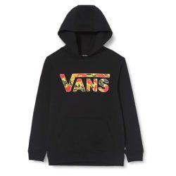 Sweat-Shirt à Capuche Vans Classic Kids Hoodie Black-Flame Camo enfant