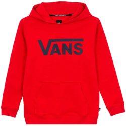 Sweat-Shirt À Capuche Vans Classic rouge enfant