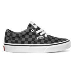 Chaussures Vans Doheny Noir Damier | Checkerboard Black/Pewter