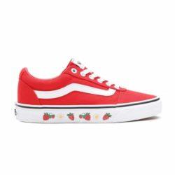 Chaussures Vans Ward Ward Canvas Strawberry Sidewall