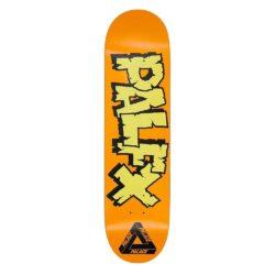 Planche de skateboard Palace NEIN FX orange deck 8.1″