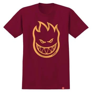 T-shirt Spitfire Bighead Rouge Cardinal/Orange