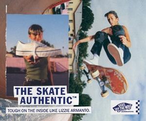 Lizzie Armanto VANS skate Authentic commercial