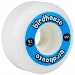 Roues Birdhouse Logo Bleu 54mm /99a