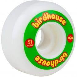 Roues Birdhouse Logo rasta 51mm /99a