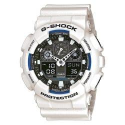 Montre Casio G-SHOCK GA-100B-7AER blanche