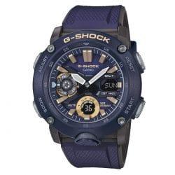 Montre Casio G-SHOCK GA-2000-2AER bleue Analogique