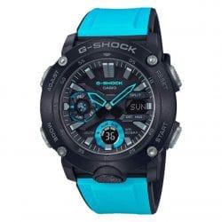 Montre Casio G-SHOCK GA-2000-1A2ER noire et bleue