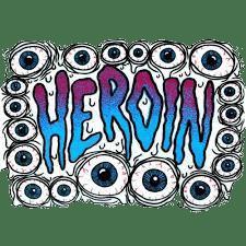 heroin skateboards logo