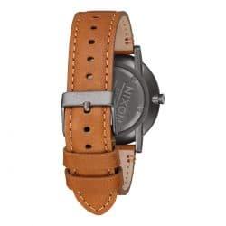 Montre Nixon Porter Montre Nixon Porter bracelet cuir marron