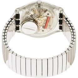 Montre Femme Swatch GM416A Digitale Quartz avec Bracelet en Acier Inoxydable