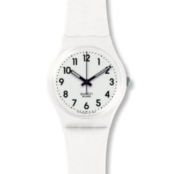 Montre Femme Swatch Just White Soft GW151O