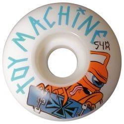 Roues Toy Machine Sect en taille 54 mmet dureté100a
