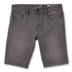 Short Volcom Solver Denim Vintage pour Homme Gris