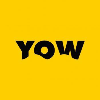 logo Yow Surfskate jaune