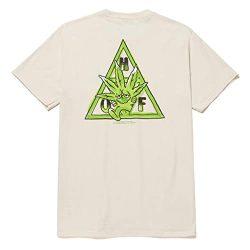 T-shirt HUF Green Buddy TT Naturel back