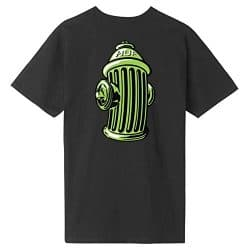T-shirt HUF Hydrant black