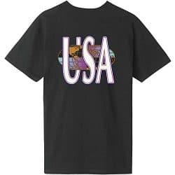T-shirt HUF Quake USA black