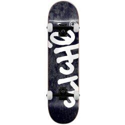 Skateboard complet Cliché Handwritten Tie Dye noir 8.0″