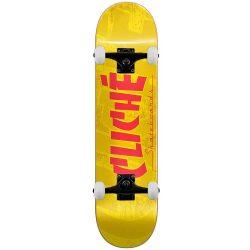 Skateboard complet Cliché Banco RHM jaune 8.0″