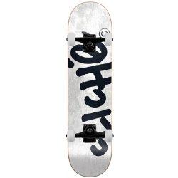 Skateboard complet Cliché Handwritten Tie Dye blanc 8.25″