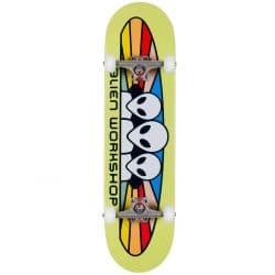 Skateboard complet Alien Workshop Believe Green 8.25″