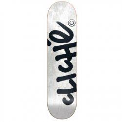 Planche de skate Cliché Handwritten Tie Dye White deck 8.0″