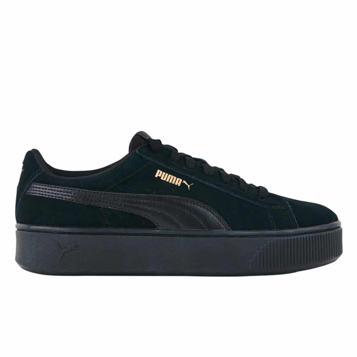 Puma Vikky Stacked SD Black Black   Chaussures Femme   Skate.fr