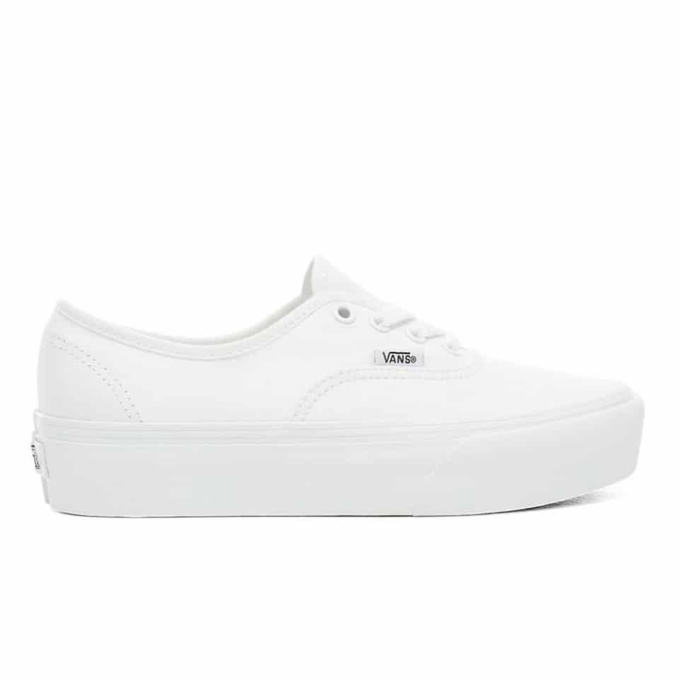 Vans Authentic Platform 2.0 White | Skate.fr