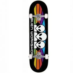 Skateboard complet Alien Workshop Spectrum Black 7.75″